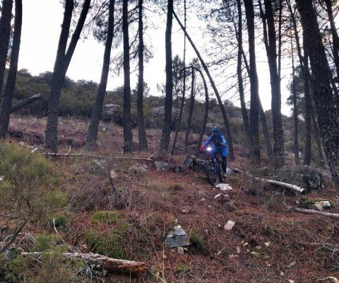 Ruta buena por Carpurias, saliendo de Coomonte